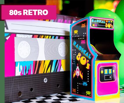 80s retro theme image