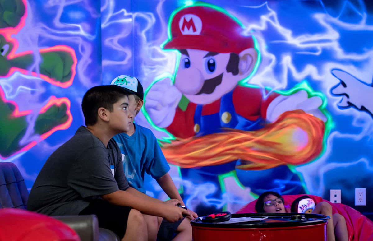 Super Mario theme image